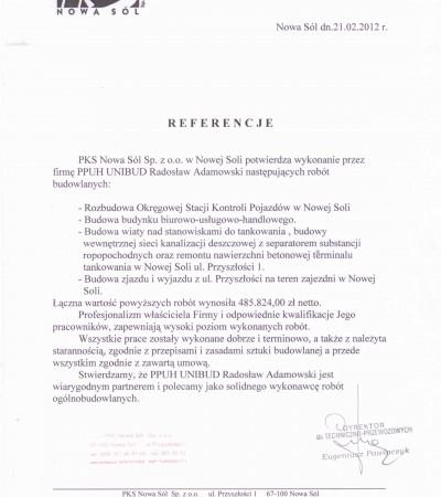 PKS Nowa Sól